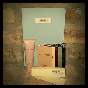 Chloe Nomade Body Lotion & MIU MIU